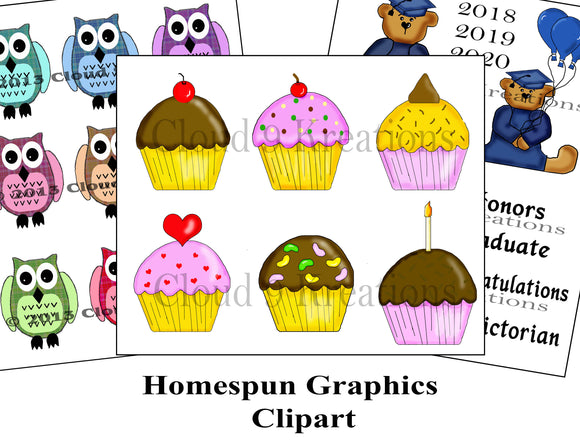 Homespun Graphics Clipart