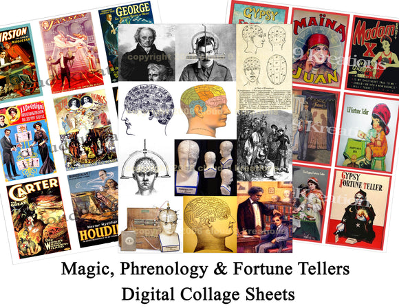 Magic, Phrenology & Fortune Tellers