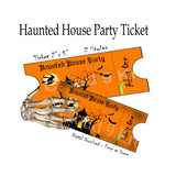 Haunted House Party Ticket