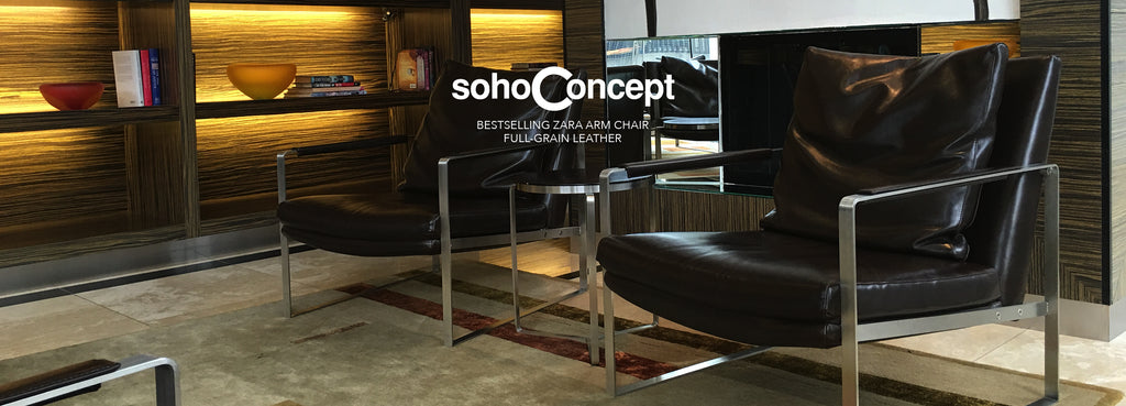 sohoConcept Zara Arm Chair