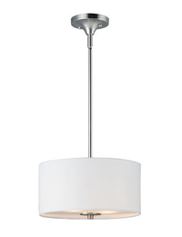 Maxim Lighting Bongo 2-Light Pendant / Semi-Flush Mount 10011WLSN