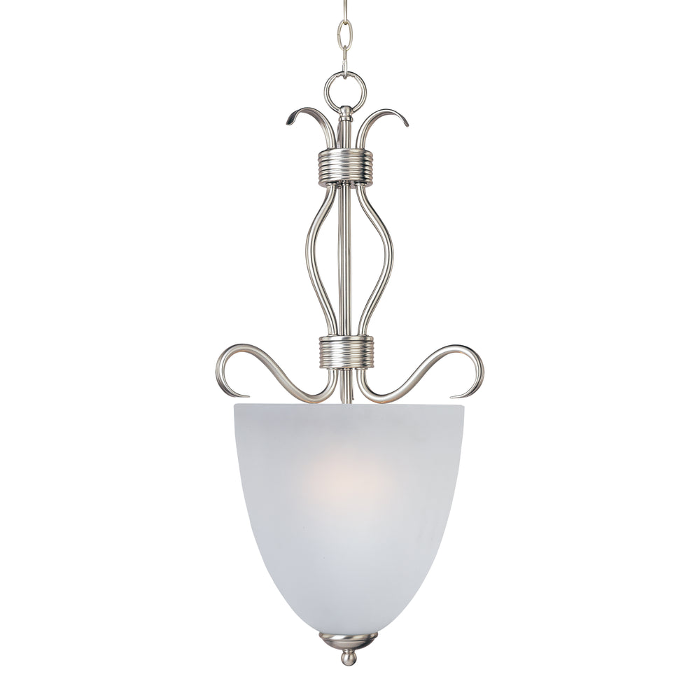 Maxim Lighting Basix 2-Light Entry Foyer Pendant 10130FTSN