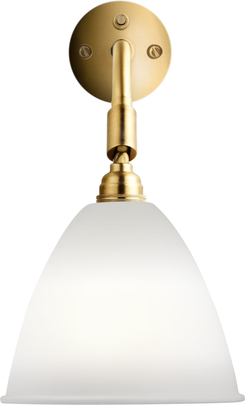 Gubi BL7 Wall Lamp 16 Brass