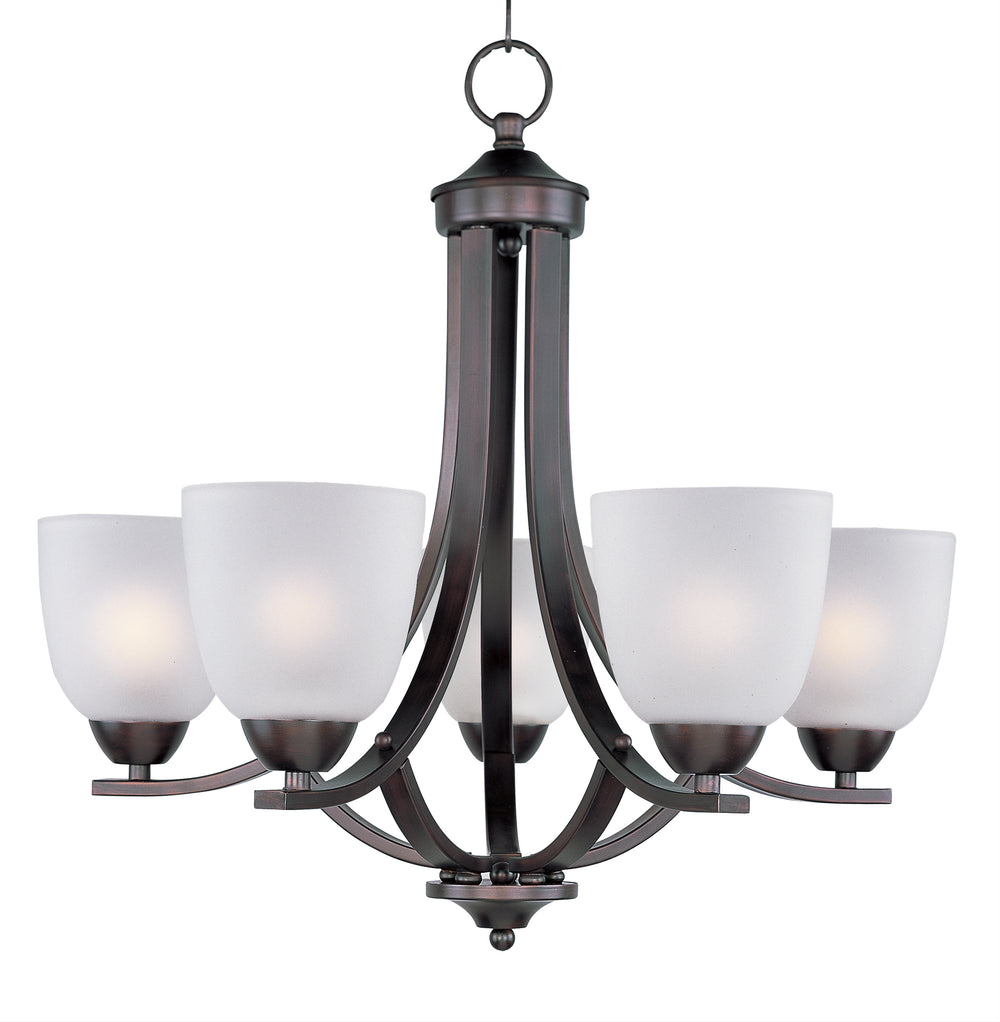 Maxim Lighting Axis 5-Light Chandelier 11225FTOI