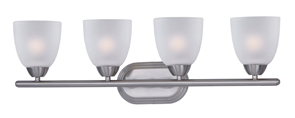 Maxim Lighting Axis 4-Light Bath Vanity 11314FTSN