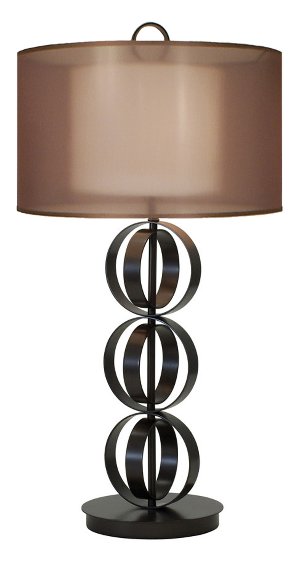 Compass Table Lamps by Thumprints