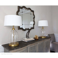 Regina Andrew Glass Dome Table Lamp Natural Brass
