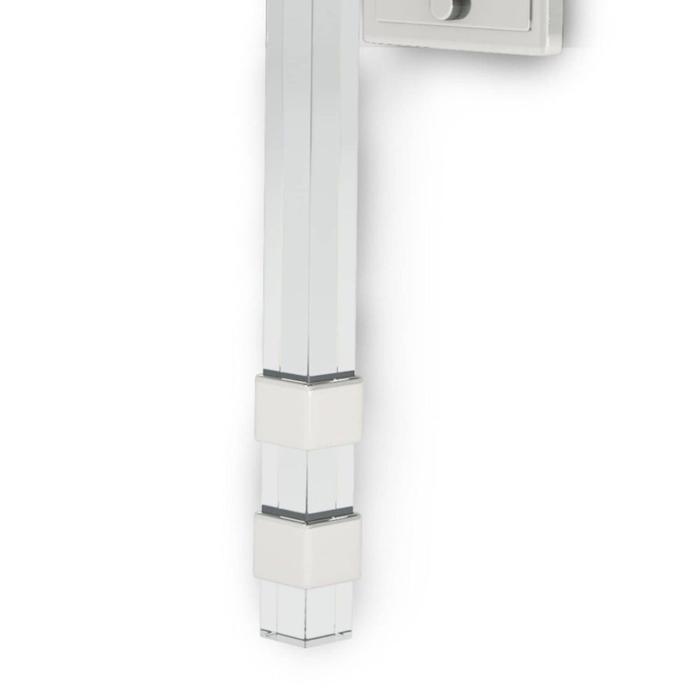 Regina Andrew Metro Sconce Polished Nickel