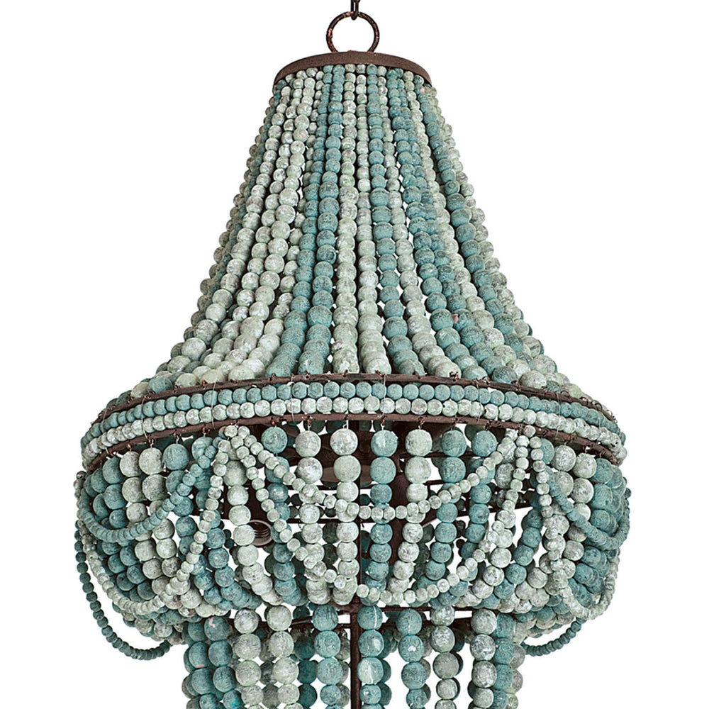 Regina Andrew Malibu Chandelier Weathered Blue