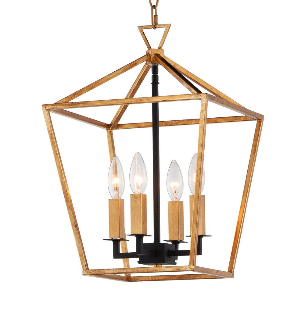 Maxim Lighting Abode 4-Light Small Chandelier 25152GLTXB