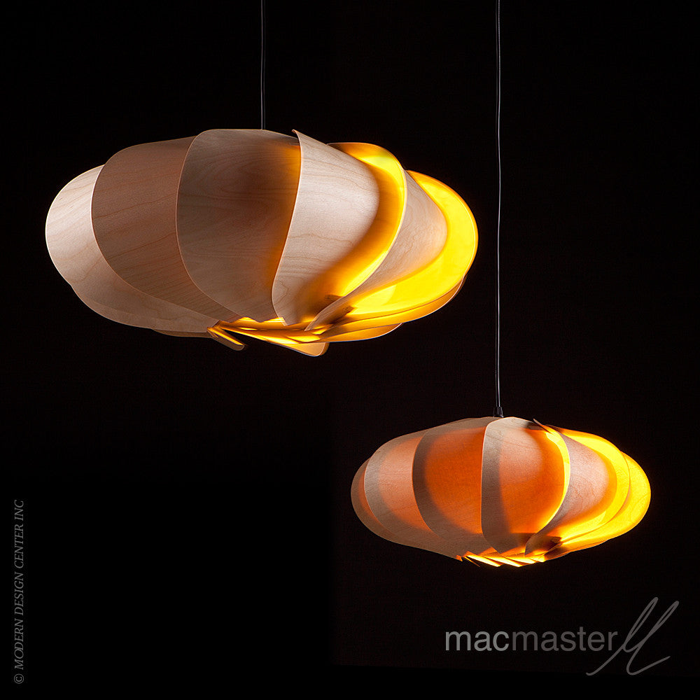 MacMaster Design Bloom Pendant Light Oval Small - LoftModern - 4
