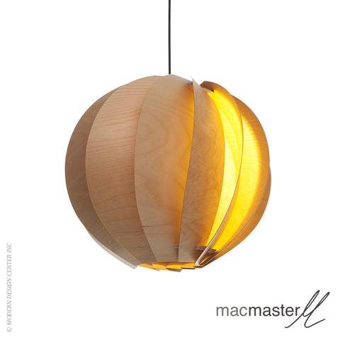 MacMaster Design Bloom Pendant Light Round