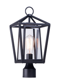 Maxim Lighting Artisan Single Outdoor Post Lamp 3171CLBK
