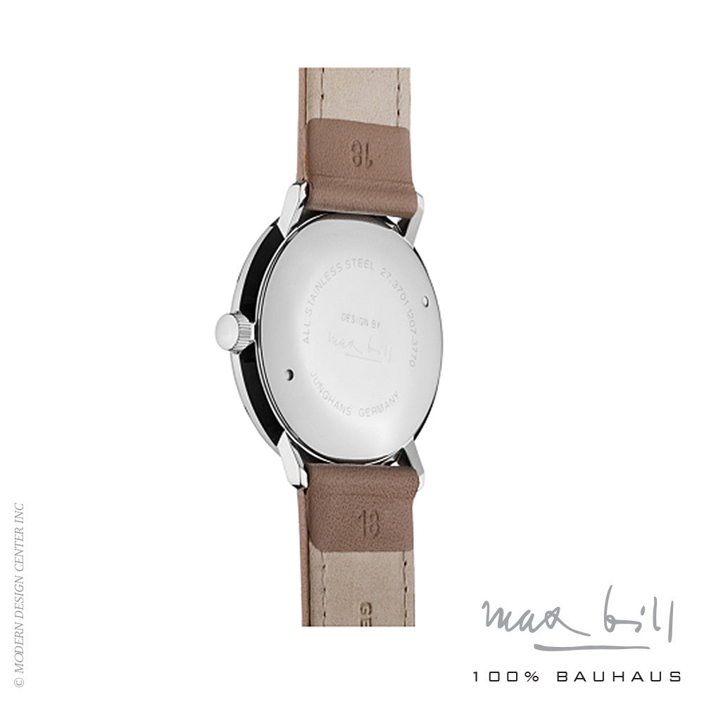 Max Bill Stainless Steel Wrist Watch 3701 | Max Bill | LoftModern