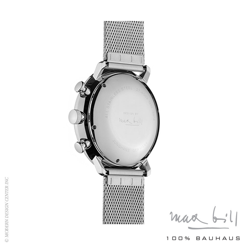 Max Bill Chronoscope Wrist Watch 4003-44 | Max Bill | LoftModern