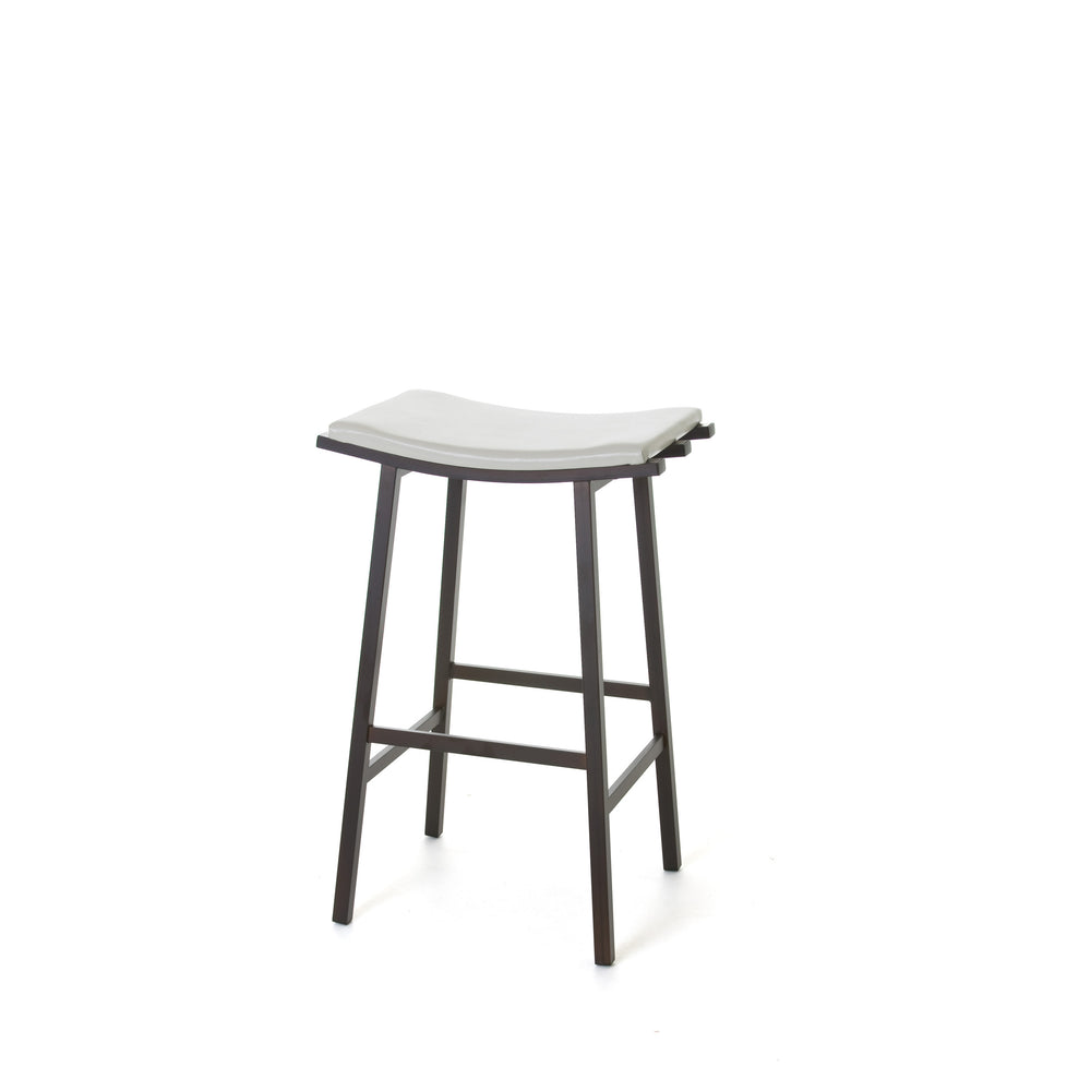 Nathan Non-swivel Stool by Amisco - LoftModern - 2