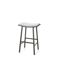Nathan Non-swivel Stool by Amisco | Amisco | LoftModern
