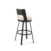 Brock Swivel Stool by Amisco | Amisco | LoftModern