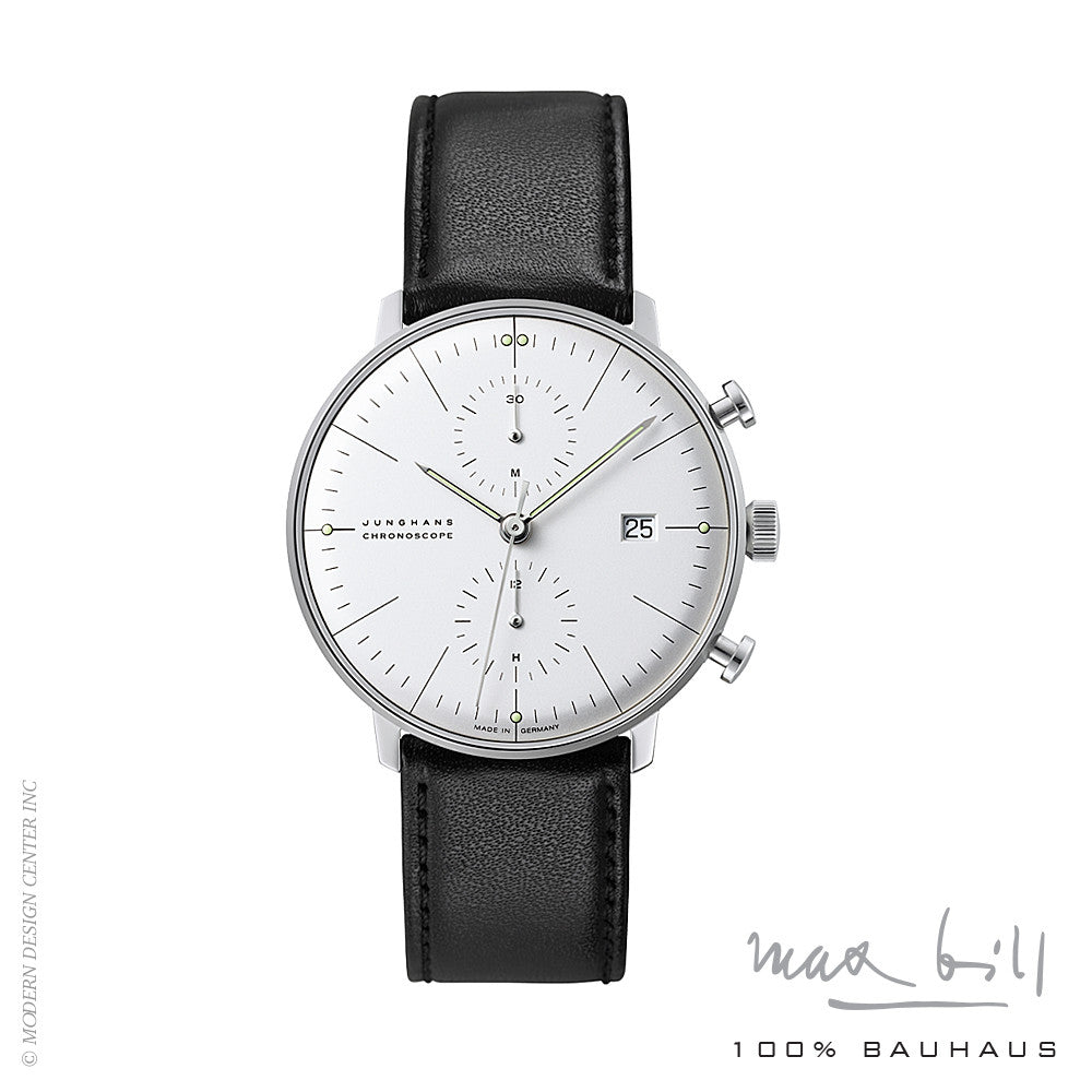 Max Bill Chronoscope Wrist Watch 4600 | Max Bill | LoftModern