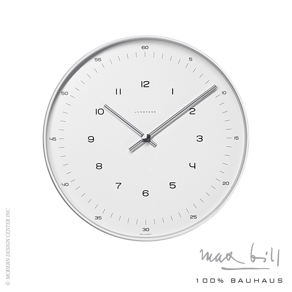 Max Bill Wall Clock - LoftModern - 1