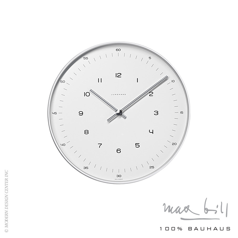 Max Bill Wall Clock - LoftModern - 2