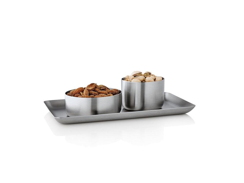 Blomus Basic Tray Stainless Steel 4x7 inches
