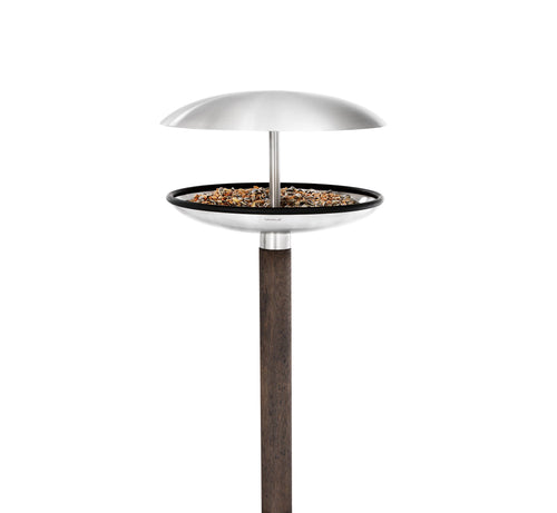 Blomus Fuera Bird Feeder with Bird Bath