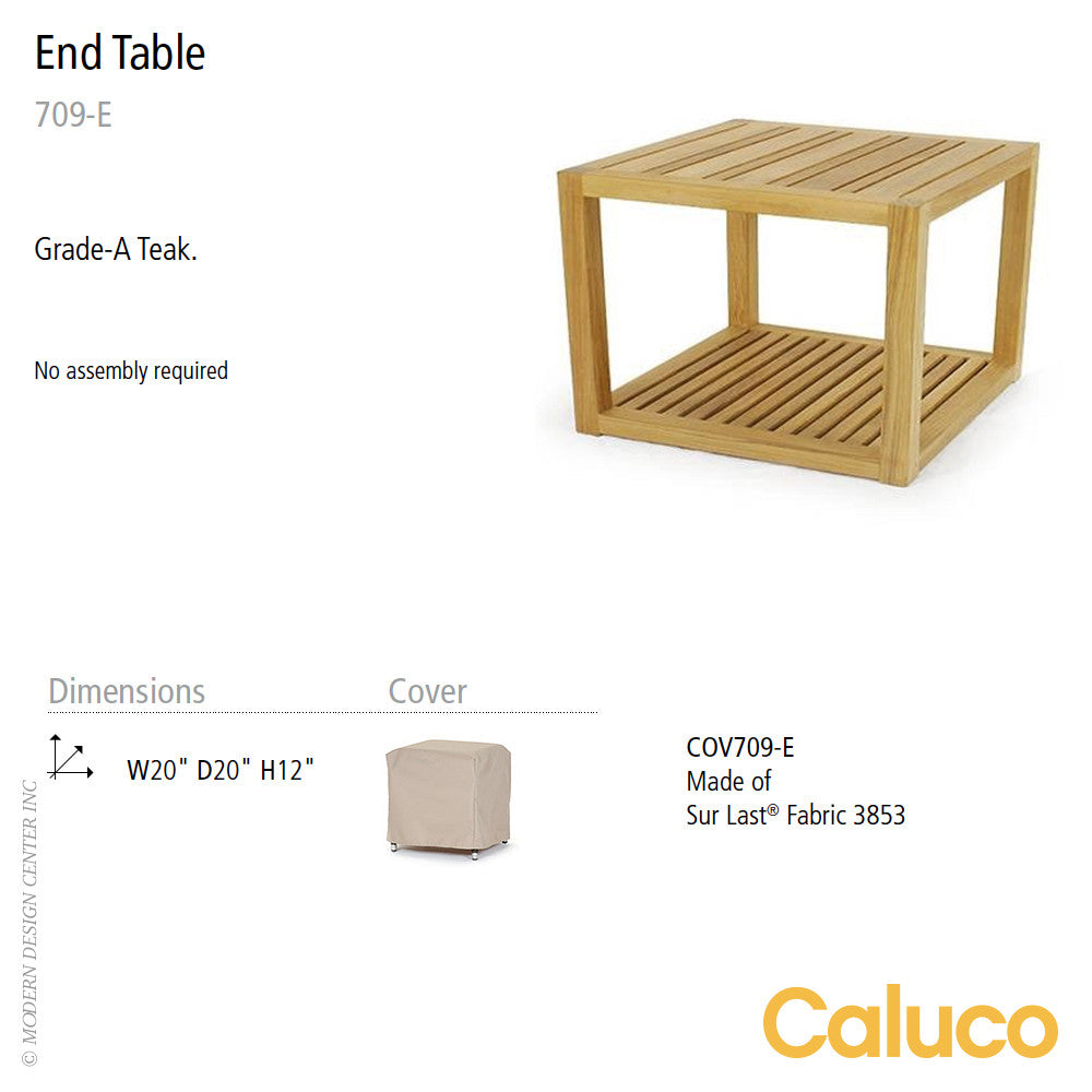 Cozy End Table by Caluco - LoftModern - 2