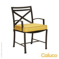 San Michelle Dining Arm Chair by Caluco - LoftModern - 1