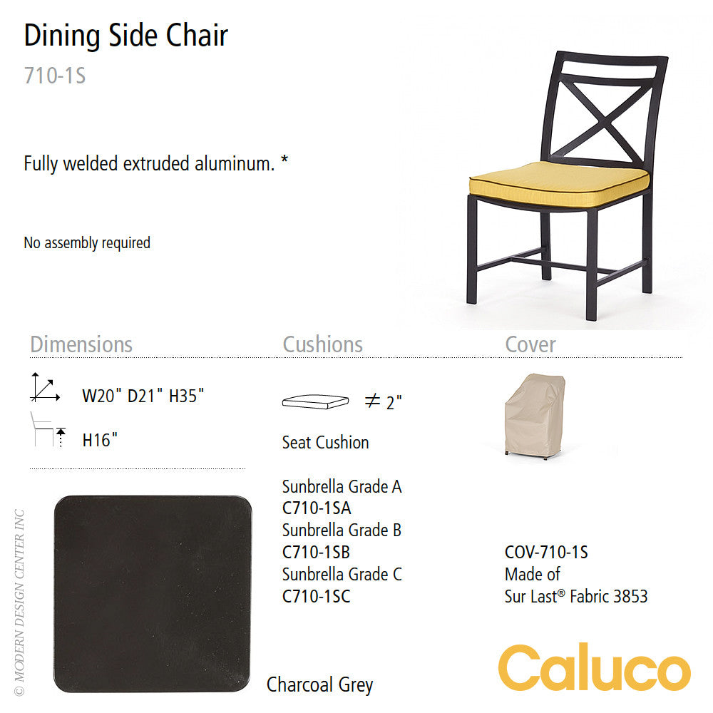 San Michelle Dining Side Chair by Caluco - LoftModern - 2