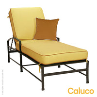 San Michelle Single Chaise by Caluco | Caluco | LoftModern