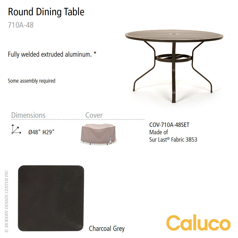 San Michelle Round Dining Table by Caluco - LoftModern - 2