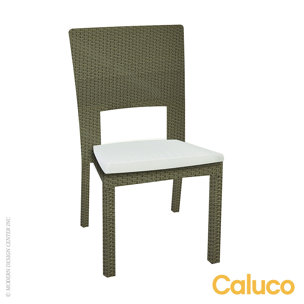 10 Tierra Stackable Dining Side Chair by Caluco - LoftModern - 1