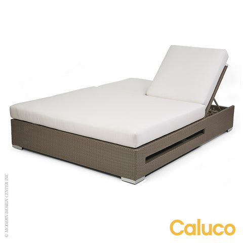 10 Tierra Double Chaise by Caluco