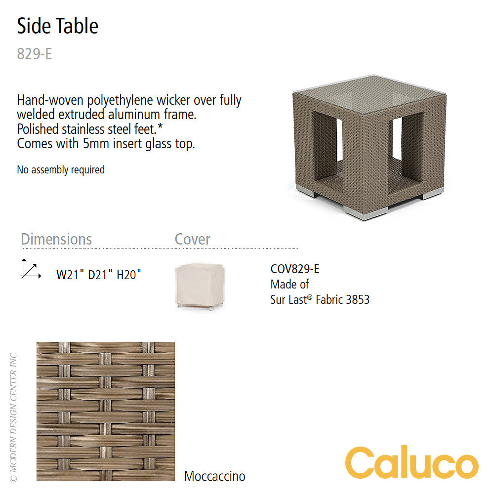 10 Tierra Side Table by Caluco | Caluco | LoftModern