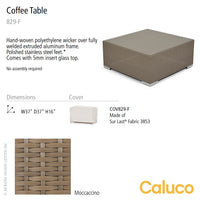 10 Tierra Coffee Table by Caluco | Caluco | LoftModern