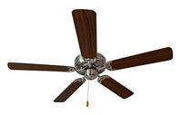 "Maxim Lighting Basic-Max 52"" Ceiling Fan Walnut/Pecan Blades 89905SNWP"