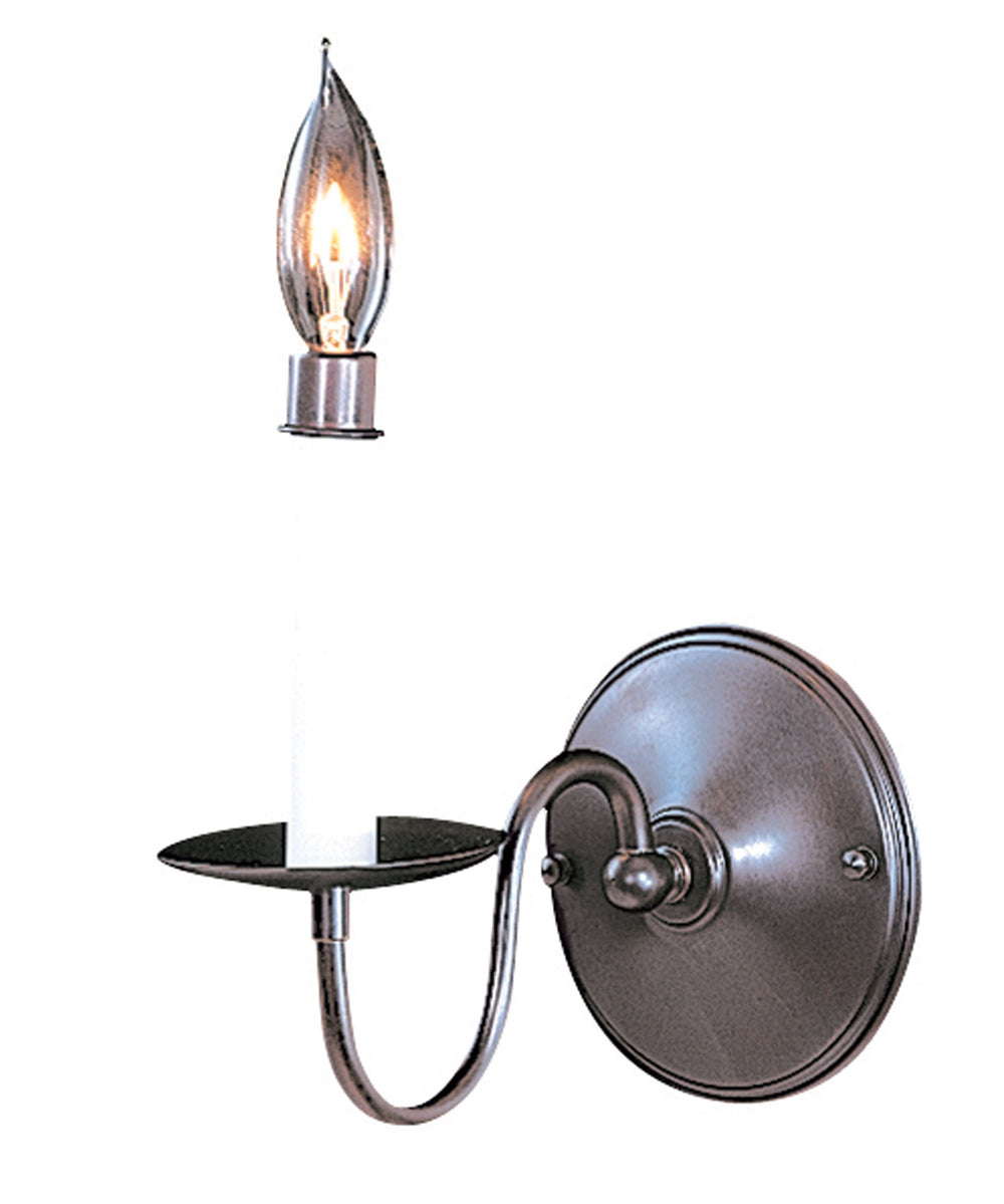 1-Light Satin Pewter Jamestown Sconce F-9221 SP by Framburg