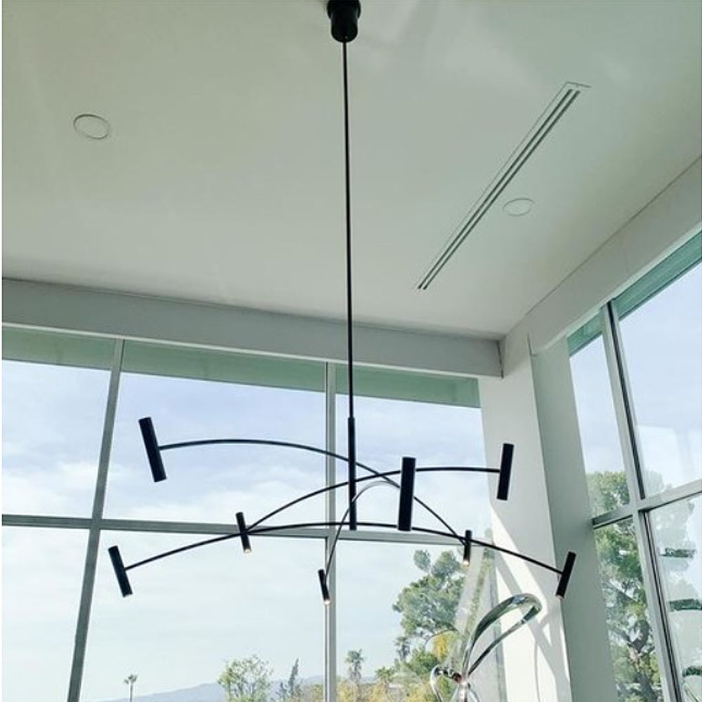 Aerial 60 Chandelier by Tech Lighting