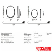 Anisha Piccola LED Table - Foscarini