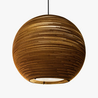 Arcturus Scraplight Pendant Natural by Graypants