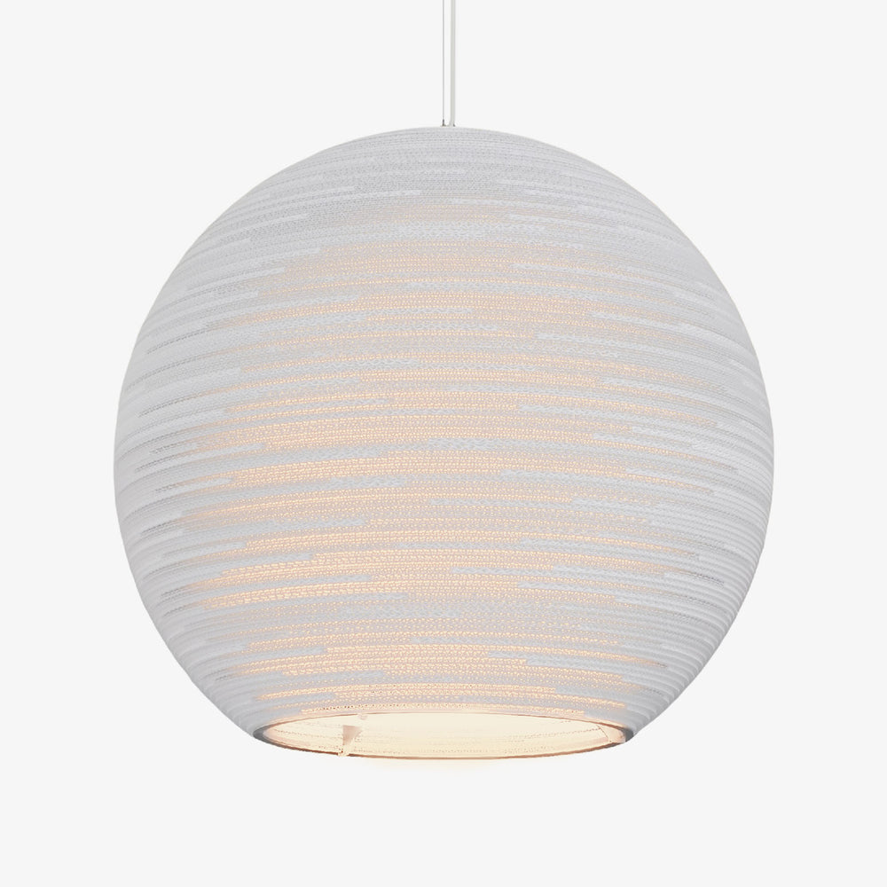Arcturus Scraplight Pendant White by Graypants