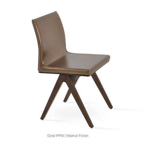 Aria Fino Dining Chair Leather by SohoConcept