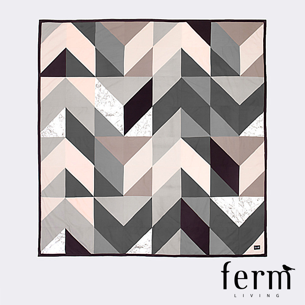 Ferm Living Arrow Bed Cover - LoftModern - 1