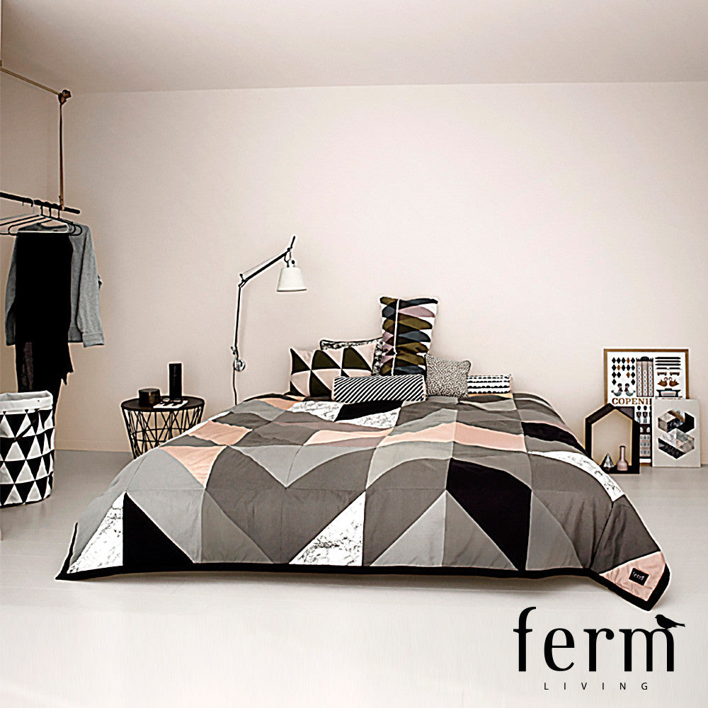 Ferm Living Arrow Bed Cover - LoftModern - 2
