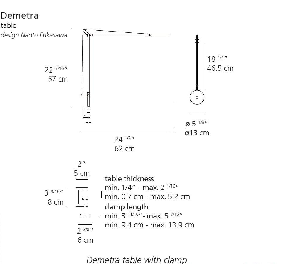 Demetra Table by Artemide