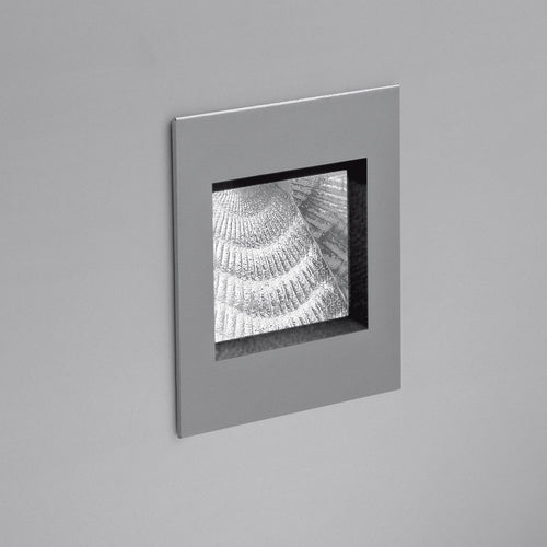 Aria Micro Wall Recessed Grey by Artemide