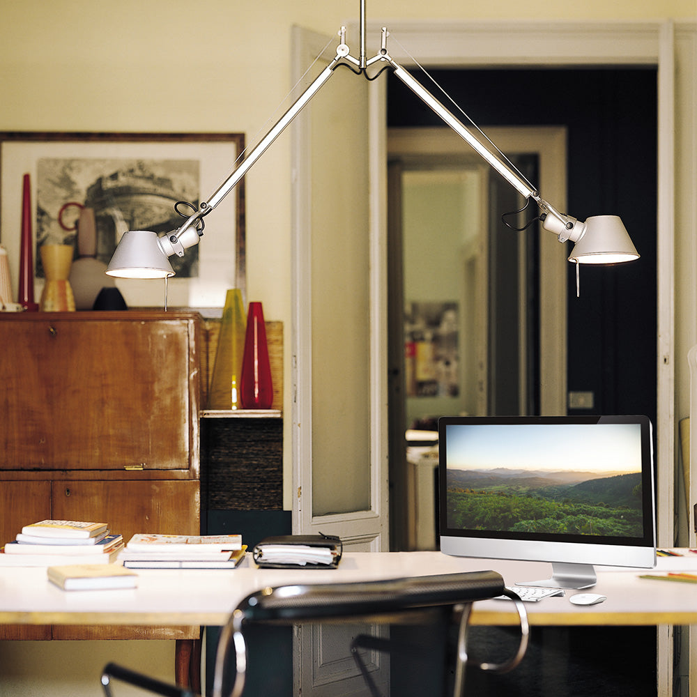 Tolomeo Double Pendant Light by Artemide