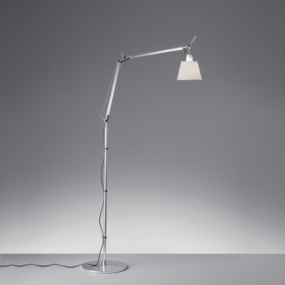 Tolomeo Reading with Shade Floor Lamp by Artemide