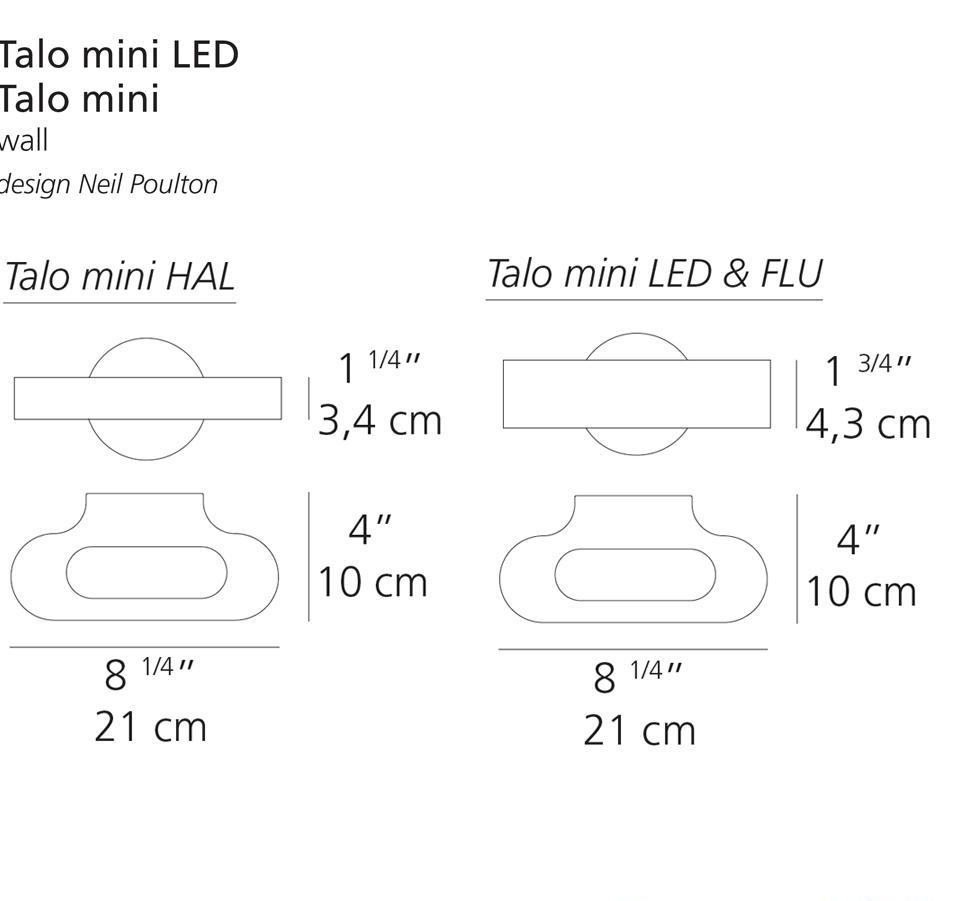 Talo Mini Wall by Artemide